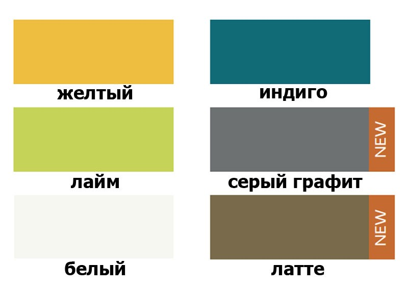 Кухня Шарлотта фабрики Сокме верхние цвета фасадов.
