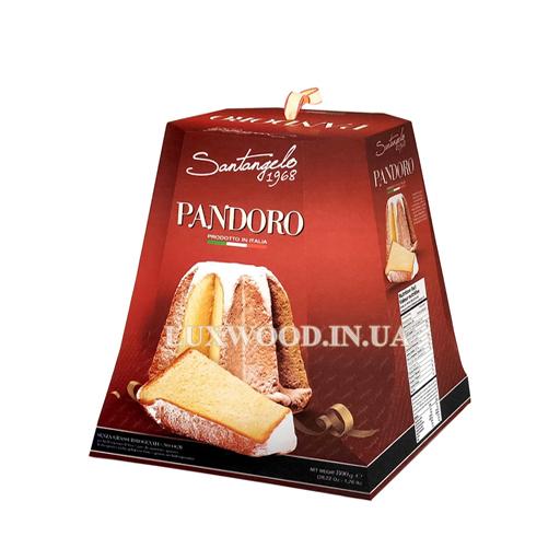 Купити італійська паска панеттоне Santagelo Pandoro, традиційна, 800 гр.